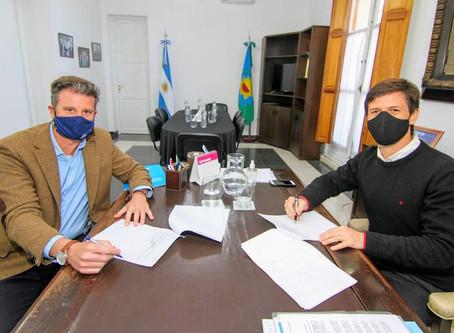 Desarrollo urbano: San Vicente adhirió al Plan nacional de suelo urbano