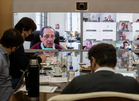 Cuarentena: Kicillof se reunió con intendentes del AMBA y con el Comité de Expertos