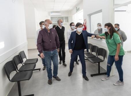 Lanús: Kicillof y Grindetti recorrieron un centro de salud