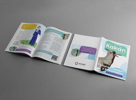 Programa Kakán: Juegos y revistas con identidad quilmeña en las plataformas municipales
