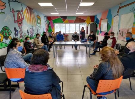 Aislamiento comunitario: Conforman el Comité de Emergencias en el Barrio Azul