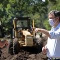 Almirante Brown: Inician las obras de pavimentación de la Av. República Argentina