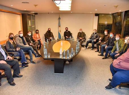 Intendentes de la región, cansados con Edesur por los reiterados cortes y la falta de respuestas