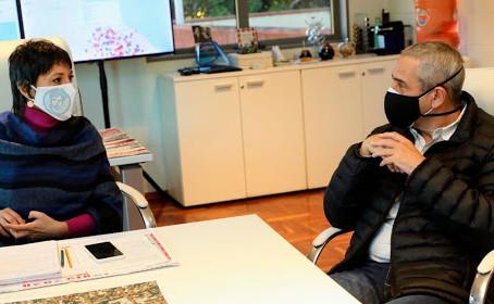 Villa Azul: Mayra y Ferraresi avanzan en la planificación del proyecto de urbanización