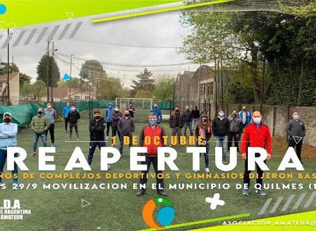 Gimnasios y complejos deportivos de Quilmes marchan al municipio para exigir su reapertura
