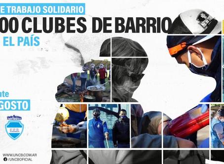 Jornada Nacional de Trabajo Solidario en 1000 clubes de barrio de todo el país