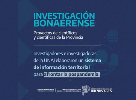 UNAJ: Investigadores desarrollan un sistema de información territorial para responder al Covid 19