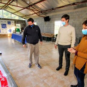 San Vicente: Ayuda financiera de Nación para los Bomberos Voluntarios