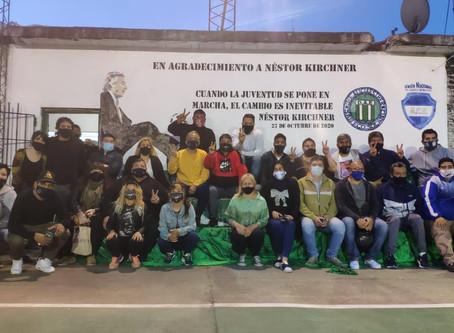 La UNCB Quilmes homenajeó al ex presidente Néstor Kirchner
