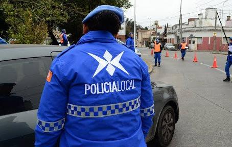 Policía local: Cruce entre Insaurralde y Berni