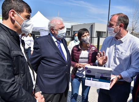 González García y Gollán presentaron nuevos tests rápidos de Covid-19 en Quilmes y Florencio Varela