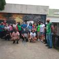 La Unión Nacional de Clubes de Barrio donó un aire acondicionado para el Hospital Oller de Solano