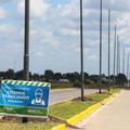 San Vicente: Obras de iluminación en la ruta 210