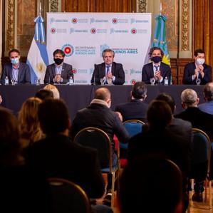 Presentan plan de obras de infraestructura y saneamiento para 16 municipios bonaerenses