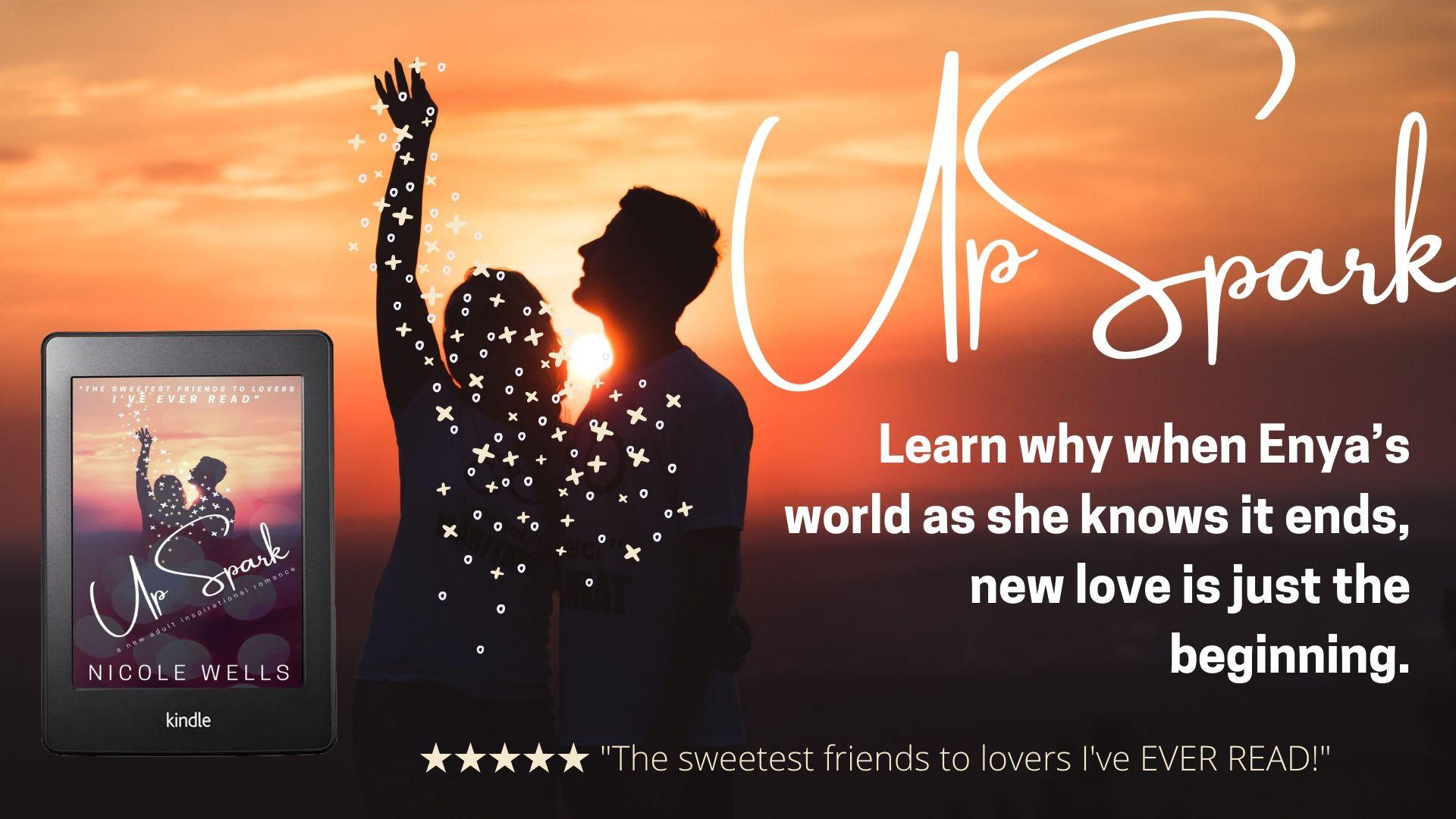 UpSpark promo release banner