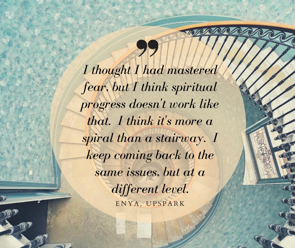 UpSpark spiral quote