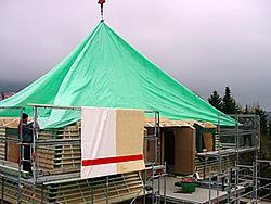 Regenschutzdach