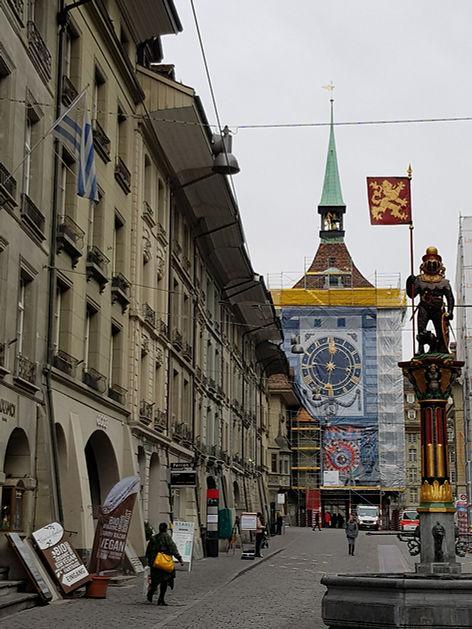Fassadenspiegelung Bern