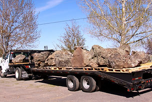 Rock, Stone and Boulder Delivery in Oregon