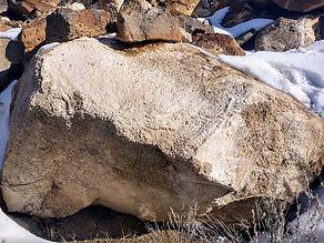 Oregon Natural Landscape Boulder Vintage Stone Unique