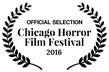 Chicago Horror festival laurel white bac