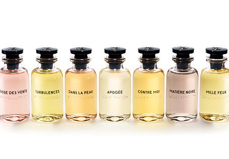 Il lancio delle fragranze Louis Vuitton