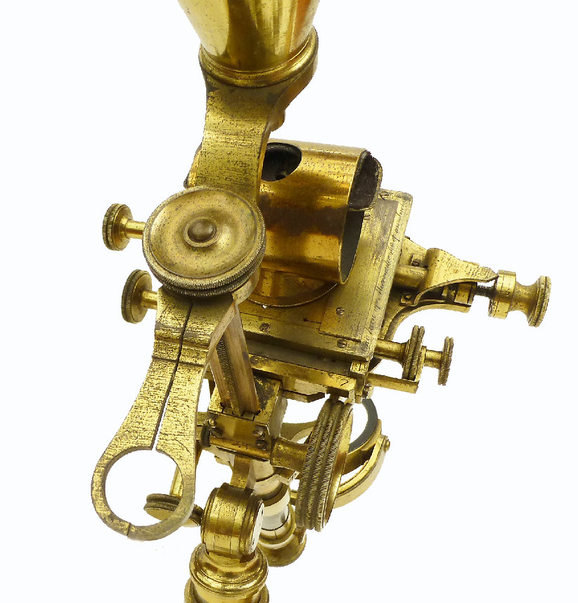 Hugh Powell Antique Microscope