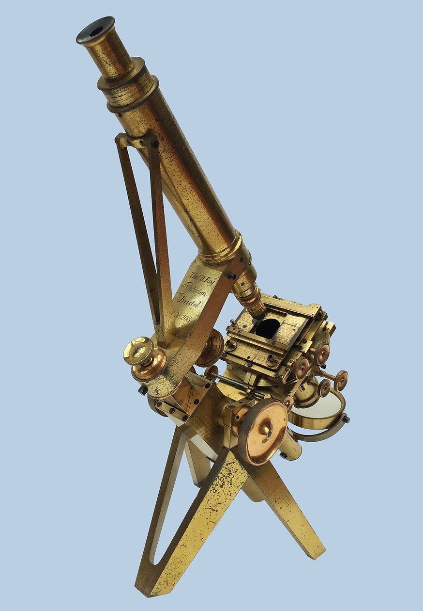 King Antique Microscope