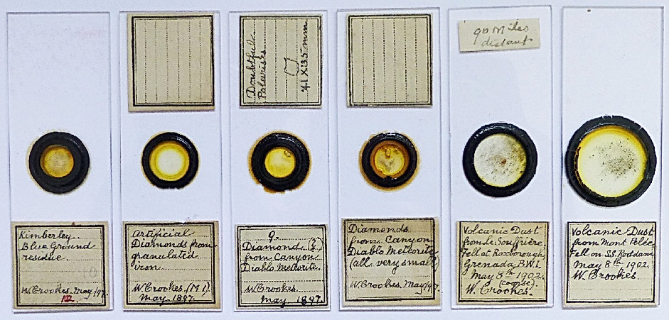 antique microscope slides