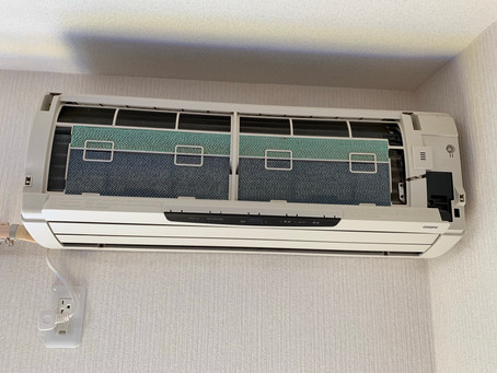 長府製エアコン