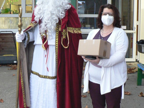 Nikolaus vor der Tür