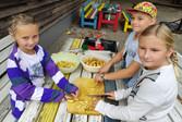 Kartoffel-Ernte im Schulgarten