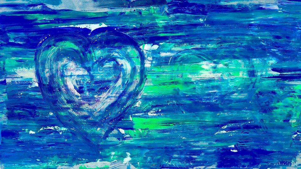 Hidden Love           (60 x 100 cm)