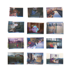 Found images, superimposed and printed digitally, 2016