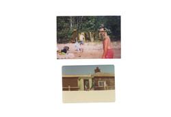 found photographs digital collage, 2018