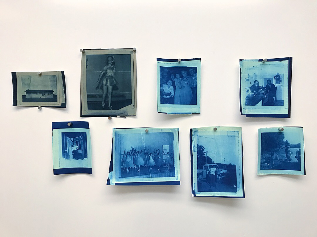 Cyanotype Tint Test, 2018