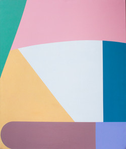 """Boyish"" acrylic on canvas, 2017"
