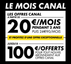 Le mois Canal