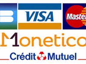 Paiement par carte bancaire en ligne