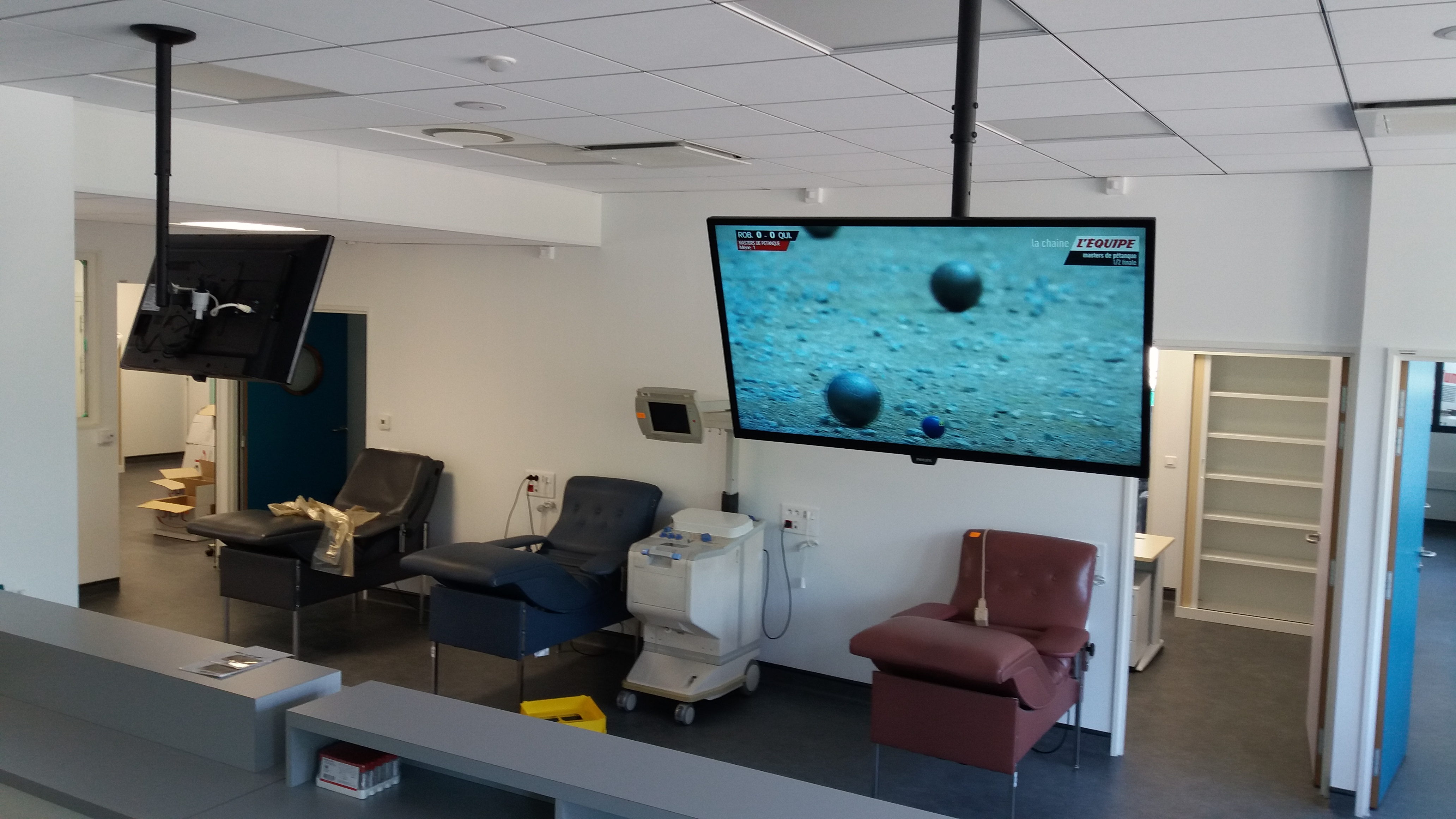 Installation de TV