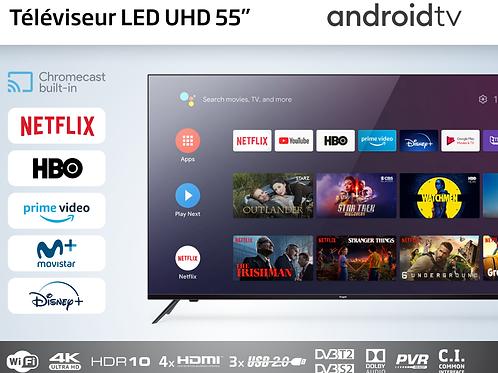 Téléviseur LED 55 pouces android tv