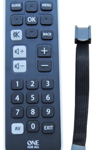 Télécommande universelle Triax pré-programmée
