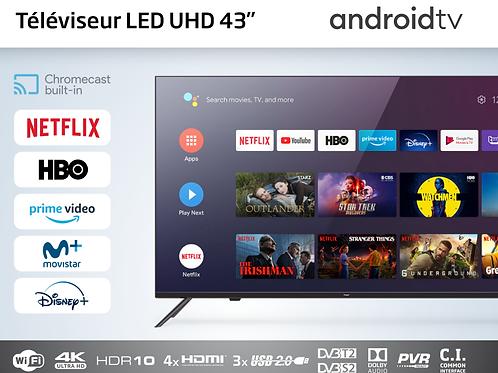 Téléviseur LED 43 pouces android tv