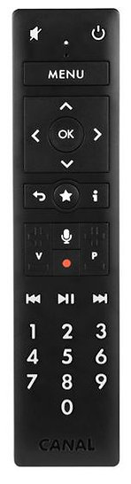 Télécommande Canal pour décodeur 4K - G9