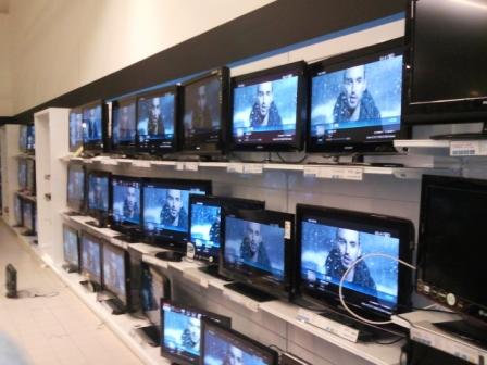 TV démonstration