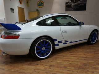 A unique 996 leaves the showroom