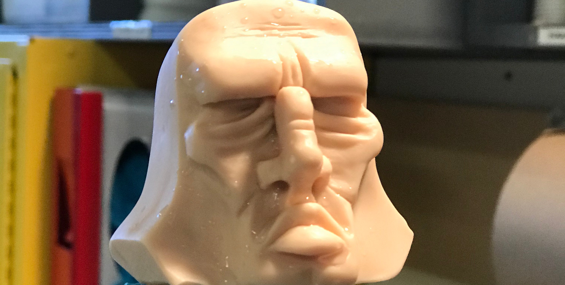 Silicone Head Before Paint