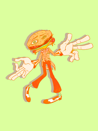 That Burger Mascot You Swear You Saw In