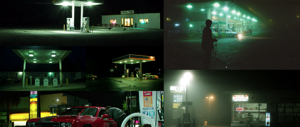 Pit Stop Color Moodboard