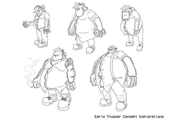 Early Trucker Concepts